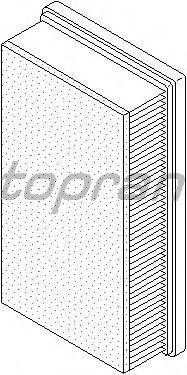 Воздушный фильтр TOPRAN 720 968