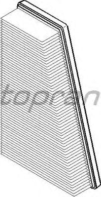 Воздушный фильтр TOPRAN 720 973