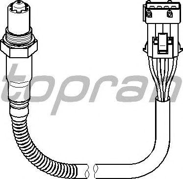 Лямбда-зонд TOPRAN 722 022