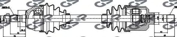 Приводной вал GSP 210039