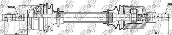 Приводной вал GSP 210141