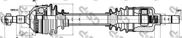Приводной вал GSP 210162