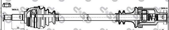Приводной вал GSP 211014