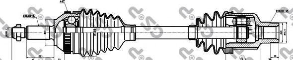 Приводной вал GSP 218004