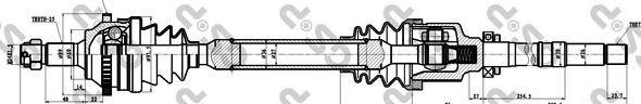 Приводной вал GSP 245011
