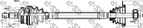 Приводной вал GSP 250221