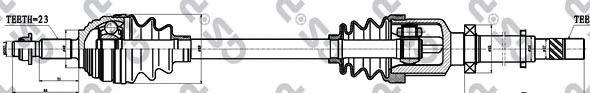 Приводной вал GSP 250354