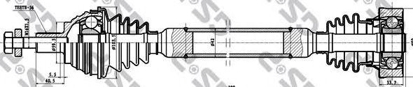 Приводной вал GSP 261096