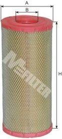 Воздушный фильтр MFILTER A 1081