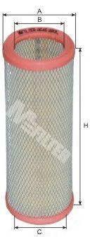 Воздушный фильтр MFILTER A 545