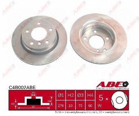Тормозной диск ABE C4B002ABE