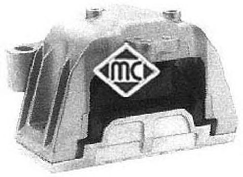 Подушка двигателя Metalcaucho 04368