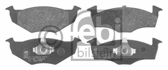 Тормозные колодки FEBI BILSTEIN 16044
