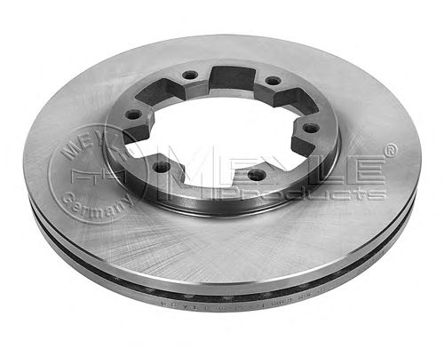 Тормозной диск MEYLE 36-15 521 0009