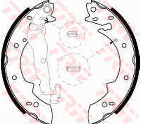 Тормозные колодки TRW GS8524