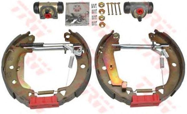 Тормозные колодки TRW GSK1736