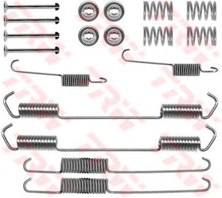 Монтажный комплект тормозных колодок TRW SFK254