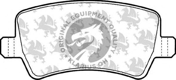 Тормозные колодки QH International BP1560