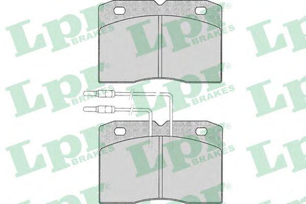 Тормозные колодки LPR 05P015