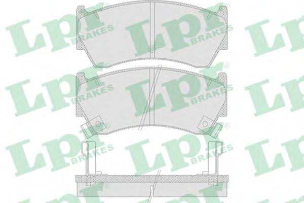 Тормозные колодки LPR 05P759