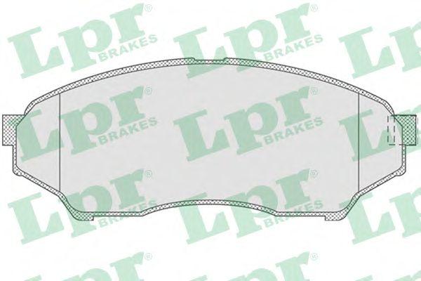 Тормозные колодки LPR 05P819