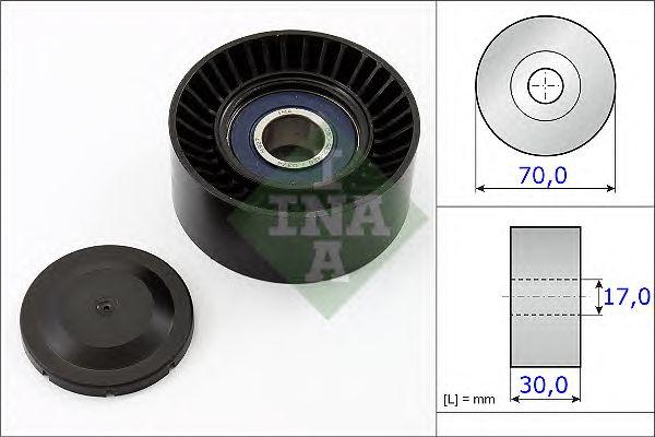 Натяжной ролик поликлинового ремня INA 531 0873 10