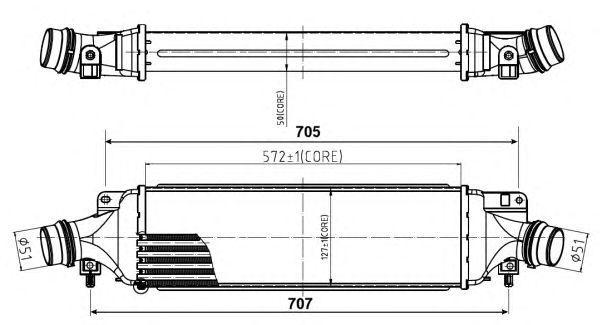 Интеркулер NRF 30780