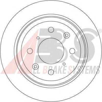 Тормозной диск A.B.S. 16192