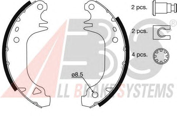 Тормозные колодки A.B.S. 8311