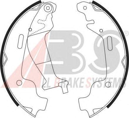 Тормозные колодки A.B.S. 9152