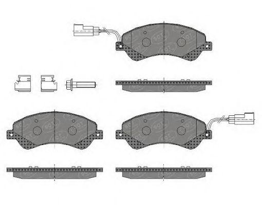Тормозные колодки SCT Germany SP 436