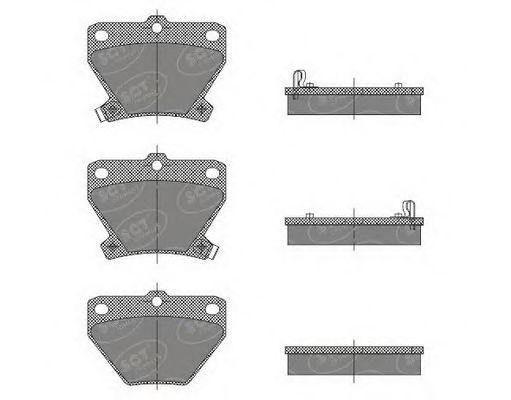 Тормозные колодки SCT Germany SP 470