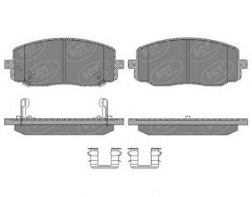 Тормозные колодки SCT Germany SP 617