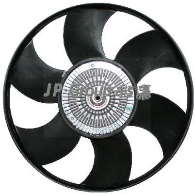 Крыльчатка вентилятора охлаждения JP GROUP 1114901100