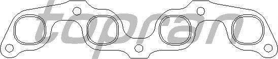 Прокладка выпускного коллектора TOPRAN 100 623