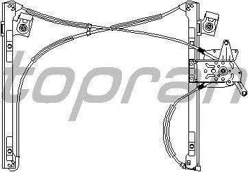 Стеклоподъемник TOPRAN 113 418