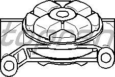 Подушки КПП TOPRAN 104 301