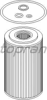 Масляный фильтр TOPRAN 500 727