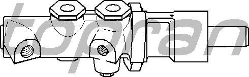 Главный тормозной цилиндр TOPRAN 501 199