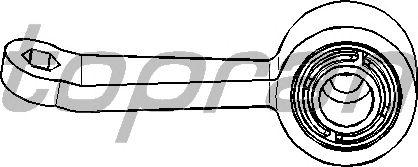 Тяга / стойка стабилизатора TOPRAN 400 621