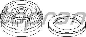 Опора стойки амортизатора TOPRAN 206 001