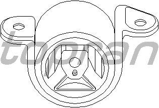 Подушка двигателя TOPRAN 201 397