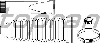 Комплект пыльников рулевой рейки TOPRAN 720 235