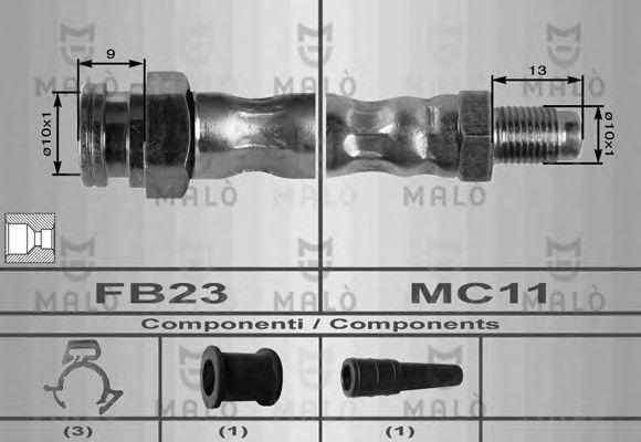 Тормозной шланг MALO 8411