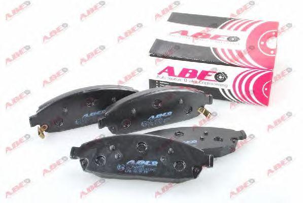 Тормозные колодки ABE C1Y026ABE