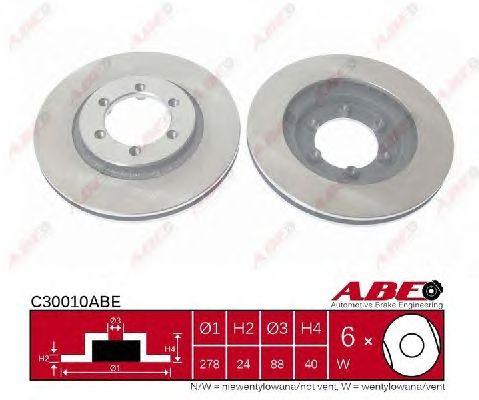 Тормозной диск ABE C30010ABE