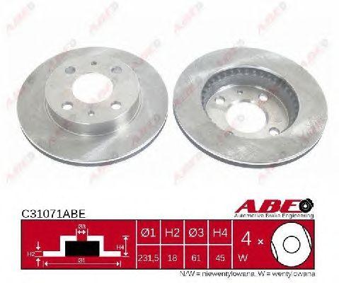 Тормозной диск ABE C31071ABE