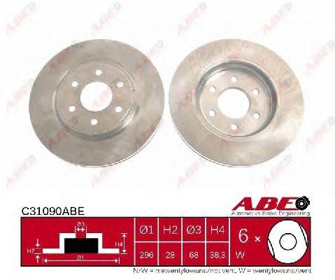 Тормозной диск ABE C31090ABE