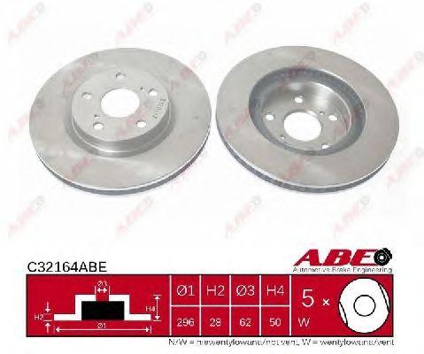 Тормозной диск ABE C32164ABE