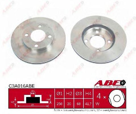 Тормозной диск ABE C3A016ABE